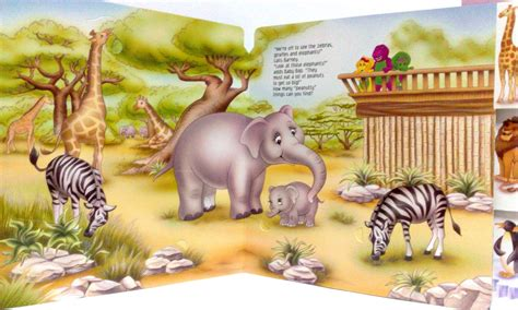 Come along for great musical adventures with your favorite purple dinosaur! LoveViaLove: BARNEY'S ZOO FRIENDS