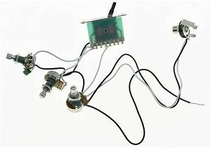 New Prewired Pots Wiring Harness Alpha 250k Mini Pots  U0026 5