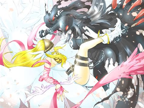 foto de Angewomon LadyDevimon digimon Pinterest Digimon