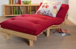 Futon 1 Place : fauteuil futon convertible lit 1 place housse de matelas futon literie ~ Teatrodelosmanantiales.com Idées de Décoration