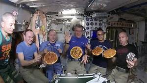 Astronauts don't eat enough because food floats in their ...