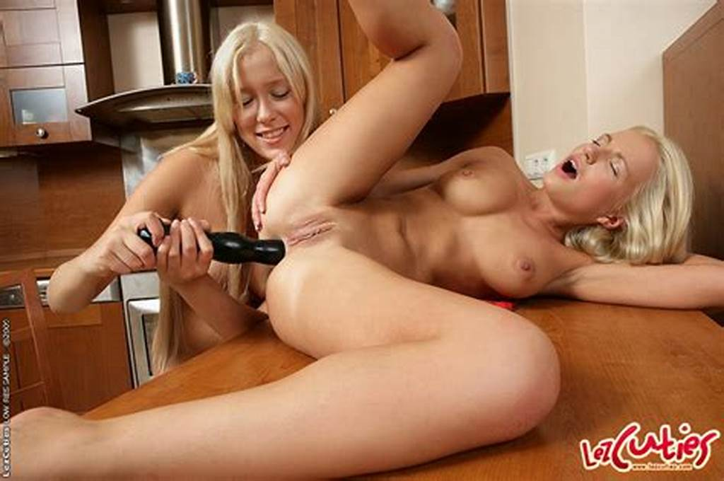 #Busty #Blonde #Lesbian #Babes #Dildoing #Her #Assholes