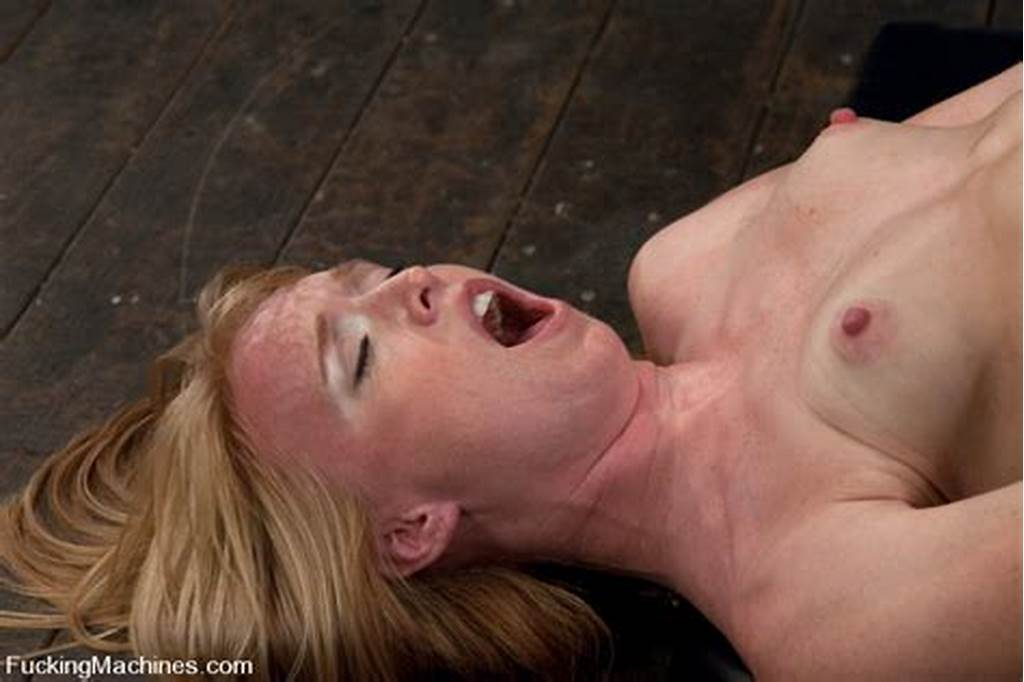 #Sexy #Strawberry #Blond #Bound #And #Machine #Fucked #Cums #Hard