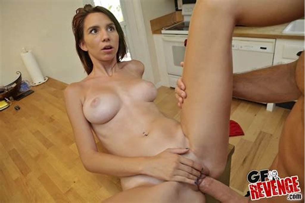 #Brunette #Girlfriend #With #Shaved #Pussy #Lips #Poses #Naked