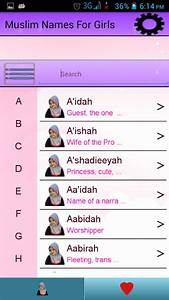 Muslim Names for Girls - Android Apps on Google Play