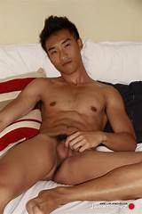 Asian gay man nude