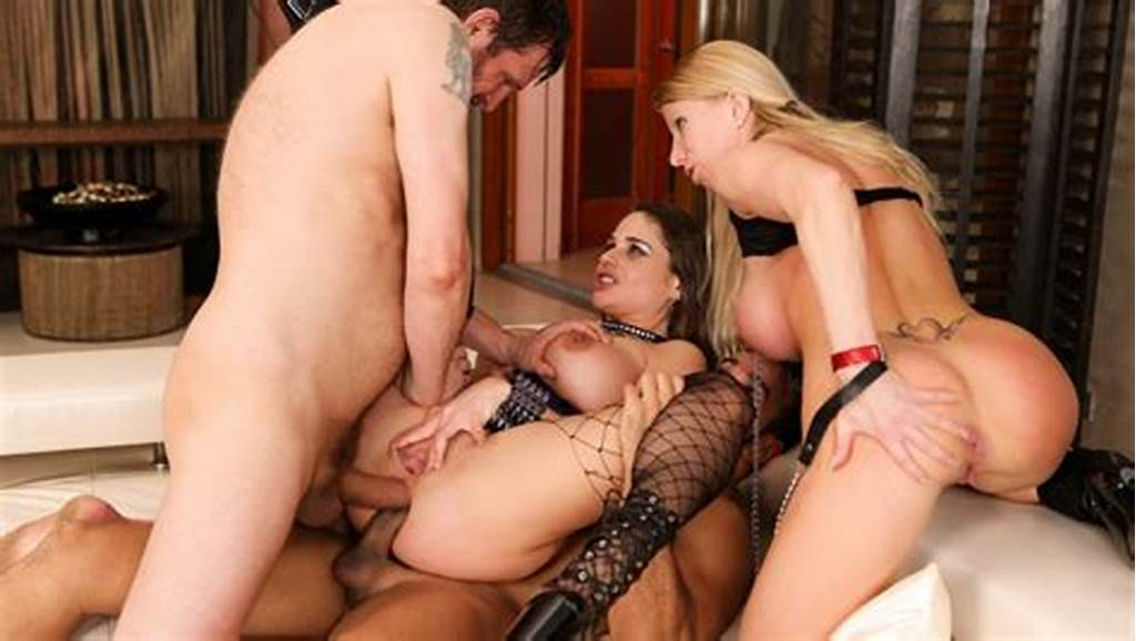 #Cathy #Heaven #& #Lara #De #Santis #& #Yanick #Shaft #& #Rocco