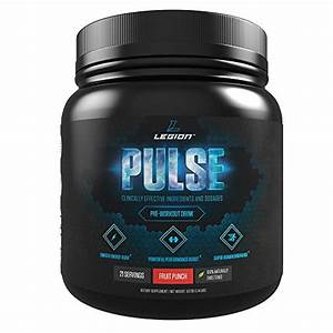 Legion Pulse Pre Workout Review  U2013 Could This Supplement Help You To Improve Your Sex Life