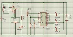 The Schematic Diagram Of Electromagnetic Field Circuit