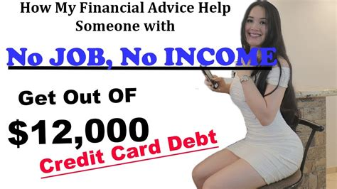 For example, many people carry both the chase sapphire. How to get Out of Credit Card Debt with No Job, No Income (a True Story) - YouTube