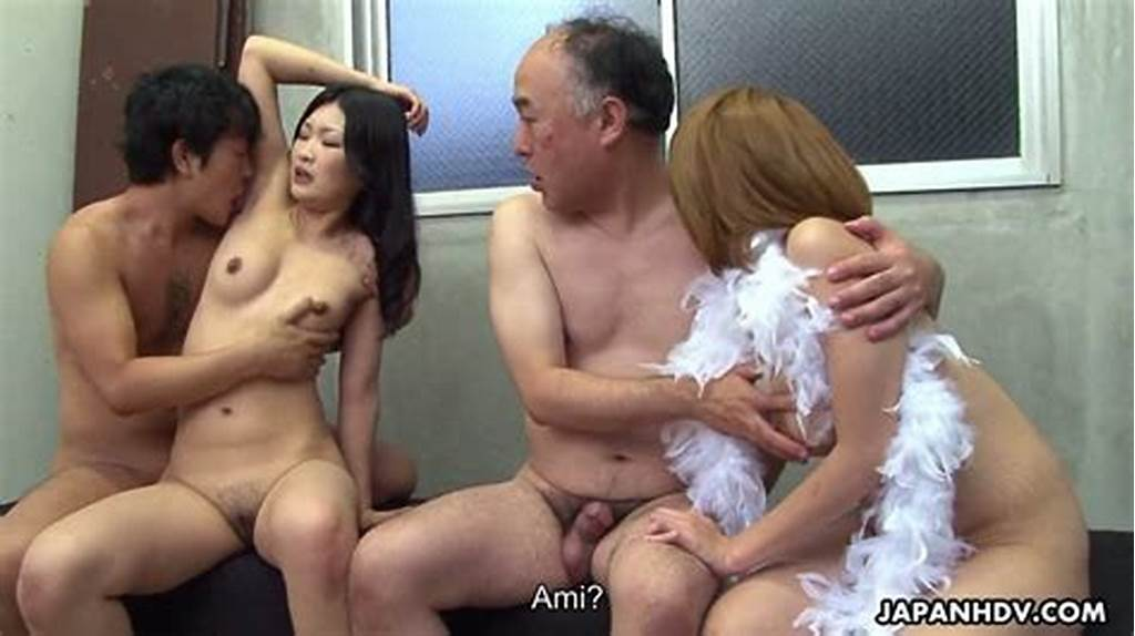 #Two #Gorgeous #Japanese #Girls #Swap #Husbands #And #Enjoy #New