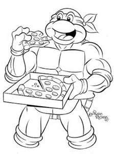 Teenage Mutant Ninja Turtles Coloring Pages Bing Images