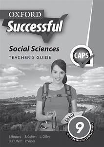 Oxford Successful Social Sciences Grade 9 Teacher U0026 39 S Guide