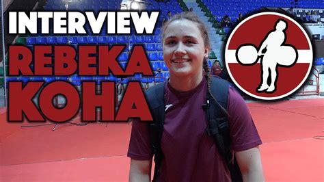 Rebeka Koha Interview + Training at 2017 European Juniors - All Things Gym