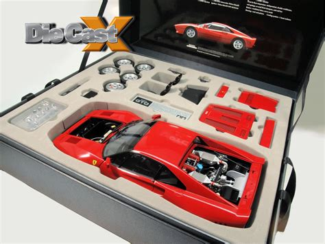 The unmistakable, stylish body of this 1980s supercar has been accurately reproduced in 1/12 scale, and you can line it up with both the previously released. Bonus Photos! Tamiya 1:12 Ferrari 288 GTO - Die Cast X