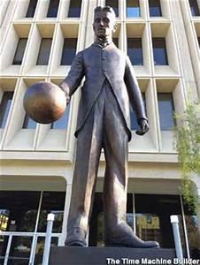 Al Light Bulbs Palo Alto Ca Statue Of Nikola Tesla