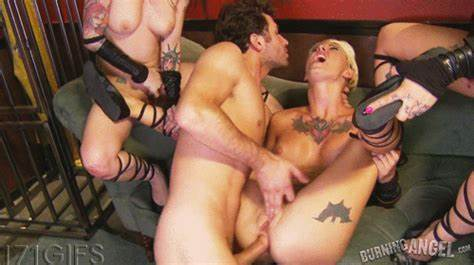 Orgies Breaks Out At Porn Gangbang Wit Yuppie Banged