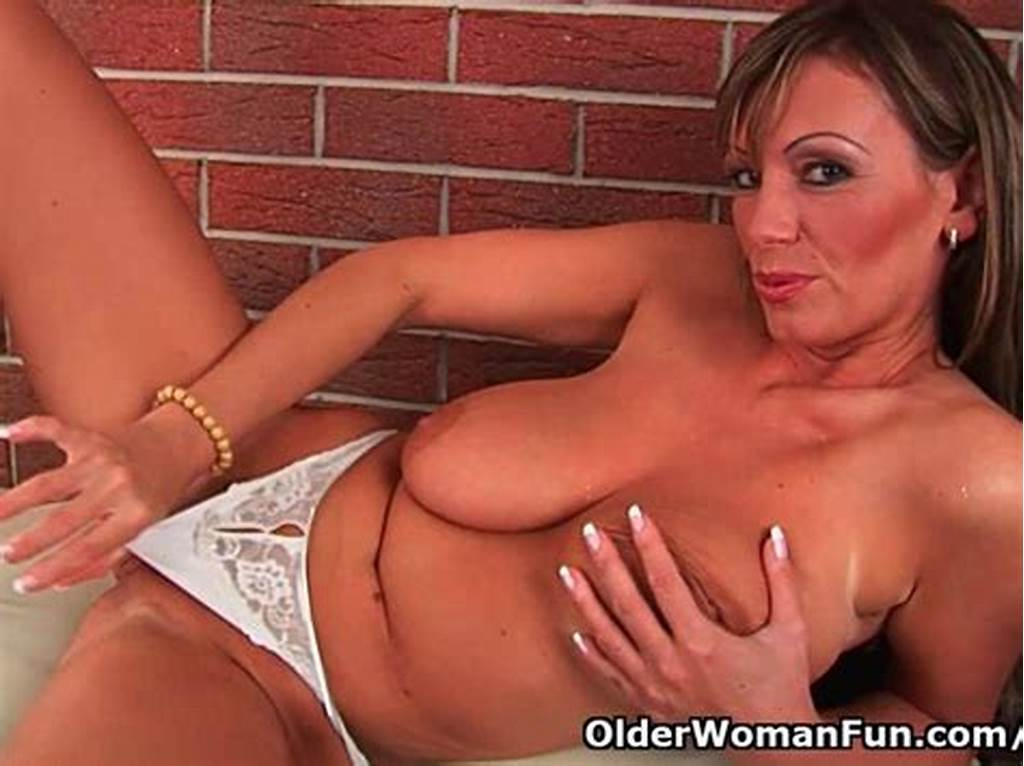 #Mature #Milf #With #Big #Tits #And #Long #Legs #Fucks #Herself