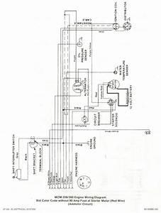 5 7 Mercruiser Starter Wiring Diagram