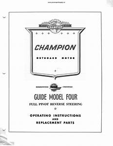 Champion Guide 4 2n 4 2 Hp Outboard Motor Manual
