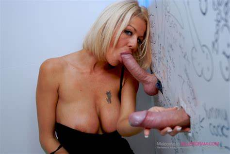 Insanely Awesome Threeway Gloryhole Whore Ugly Tia Layne Getting On Several Bals At Uncensored