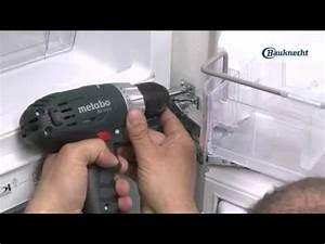 bauknecht kuhlschrank einbauen mit festturmontage With kühlschrank bauknecht