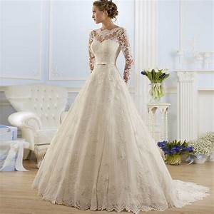 online get cheap winter long sleeve wedding dresses With long sleeve winter wedding dresses