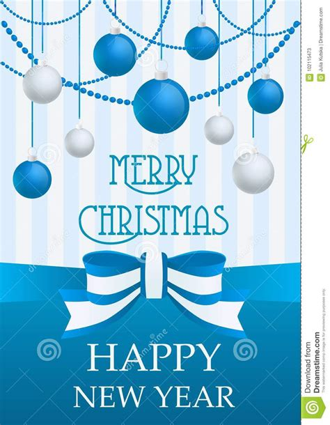 Nice and pretty merry christmas photo frames online! Vector Illustration Of Merry Christmas And Happy New Year ...