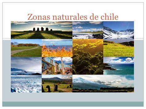 Zonas naturales de chile sexto