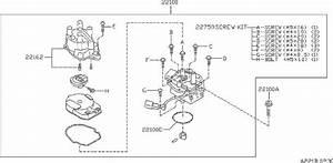 22157-4b000 - Distributor Rotor  Hitachi  Hap