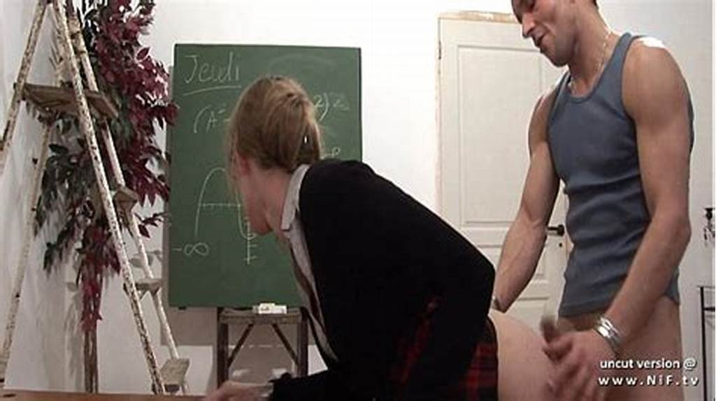 #Naughty #French #Teacher #Hard #Sodomized #And #Fist #Fucked #At