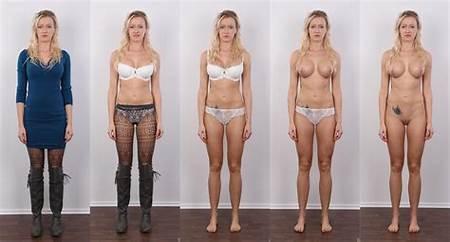 Undressing Teen Model Nude