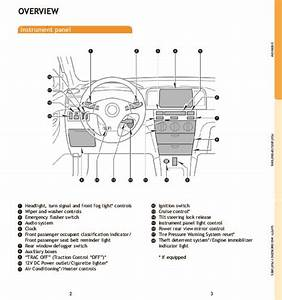 2008 Toyota Corolla Quick Reference Owners Guide
