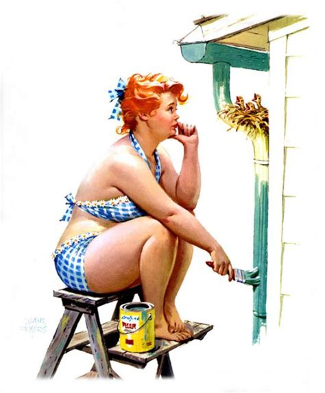 Illustrations Of The Forgotten Plus Size Pin Up Girl