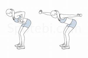 Bent Over Front Back Punch