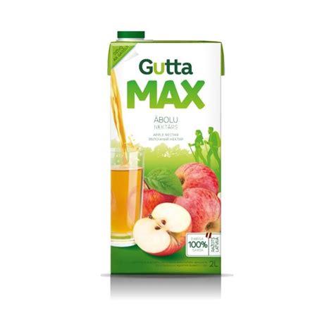 Gutta Max Ābolu nektārs 2l - Premiumstock.lv