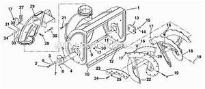 Ariens 932500 Parts List And Diagram