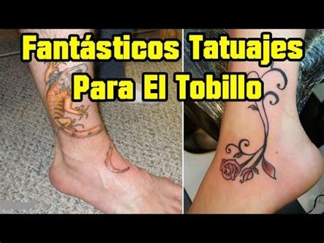 Fantásticos Tatuajes Para El Tobillo YouTube
