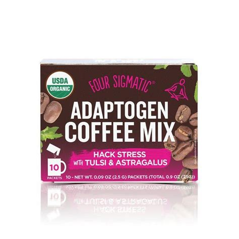 Mix 1 packet with 8 fl.oz. Four Sigmatic Adaptogen Coffee Mix   Four sigmatic, Coffee mix, Mushroom coffee