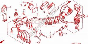 Wire Harness For Honda Fourtrax Rancher 350 4x4 2006