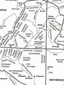 Colorado Plateau Map   Photos  Diagrams  U0026 Topos   Summitpost
