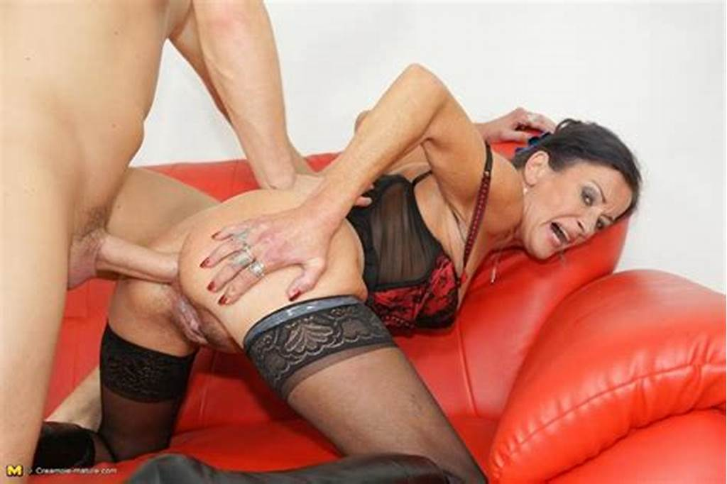 #Anal #Loving #Milf #Slut #Gets #A #Warm #Surprise