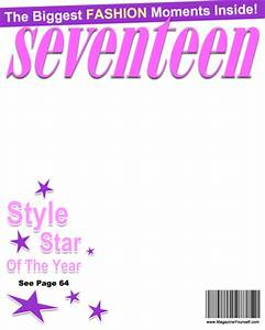 create seventeen magazine covers With seventeen magazine cover template