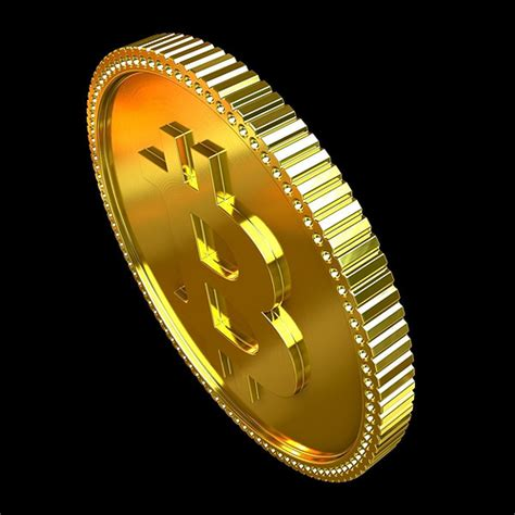 Looking for a bitcoin atm nearby? Bitcoin 3D Model MAX OBJ 3DM   CGTrader.com
