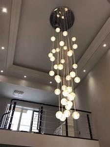 Lampen Für Treppenhaus : in stock pendelleuchte modern kristall galvanisiert ~ Watch28wear.com Haus und Dekorationen