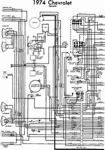 Wiring Diagram Of 1974 Chevrolet Corvette Part 1  U2013 Circuit