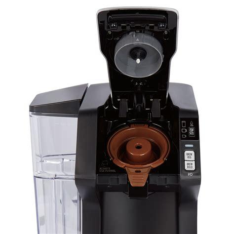 While the previous flexbrews had the ability to. Hamilton Beach FlexBrew® Single-Serve with 40 oz. Reservoir Coffee Maker - 49975
