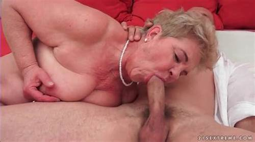 Old Has Pussylicking Fun With Hardcore Cocked Dude #Young #Man #Licks #And #Fucks #Granny #Vagina