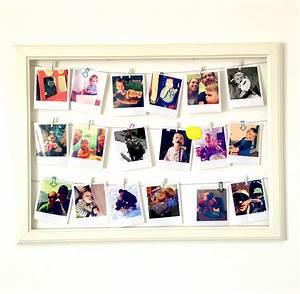 Bilder Im Rahmen : diy bilderrahmen mit polaroids ~ A.2002-acura-tl-radio.info Haus und Dekorationen