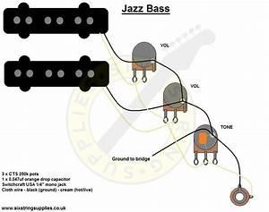 Squier P Bass Wiring Diagram